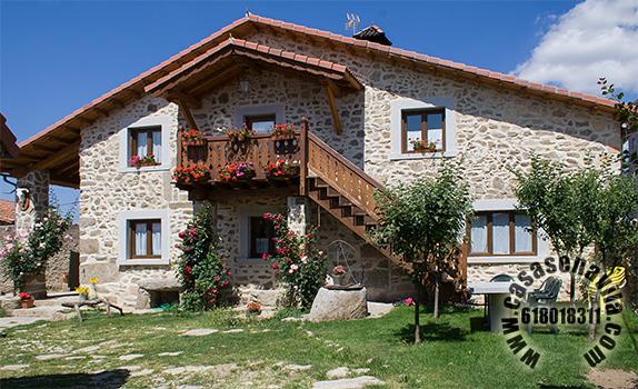 Casa rural en gredos la casona avila gredos casas - Casa rural bellver de cerdanya ...